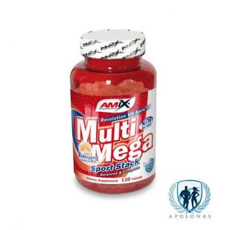 Amix Multi Mega Sport Stack 120tab