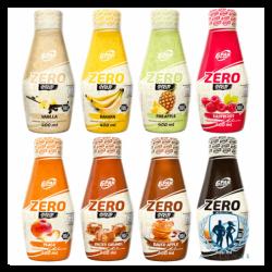 6PAK Nutrition Zero Syrup 400ml
