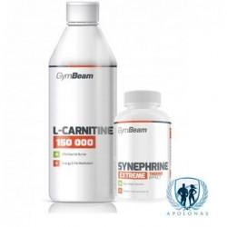 GymBeam L-Carnitine 150 000 + GymBeam Synephrine