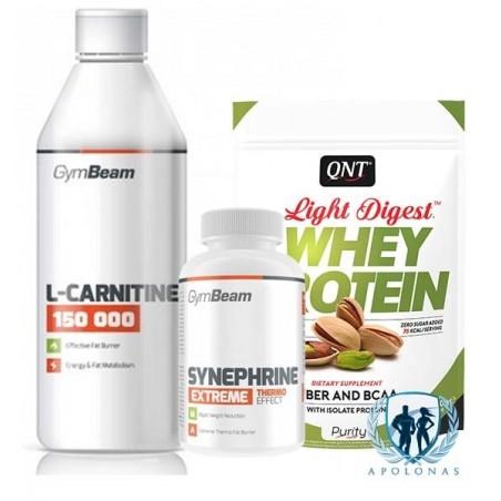 L-Carnitine + Synephrine + LIGHT DIGEST + gertuvė