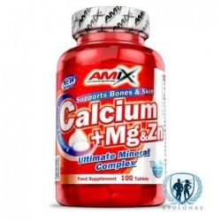 Amix Calcium + Mg & Zn 100tab