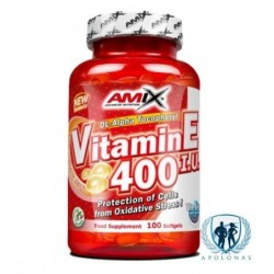 Amix Vitamin E 400 IU 100 kaps.