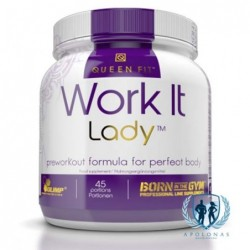 Queen Fit Work It Lady 45porc