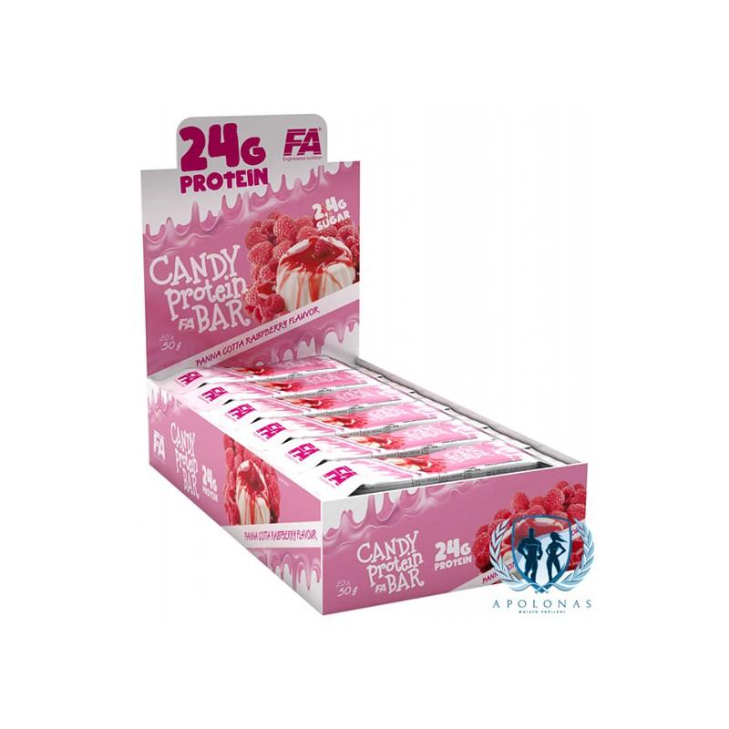 FA Candy baltyminiai batonėliai 50g