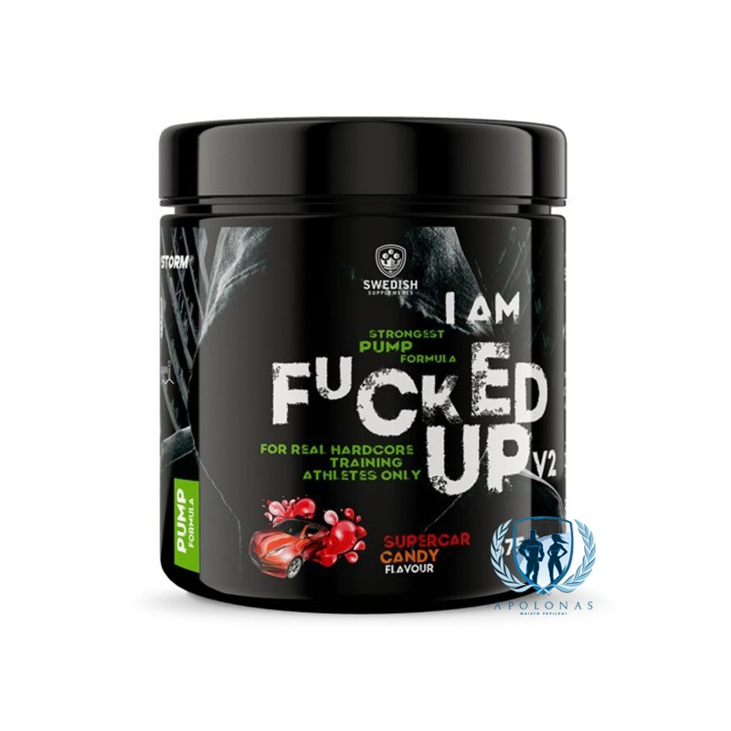 Swedish Supplements I Am F*cked Up V2 375g