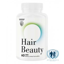 Swedish Supplements Hair Beauty 60kaps
