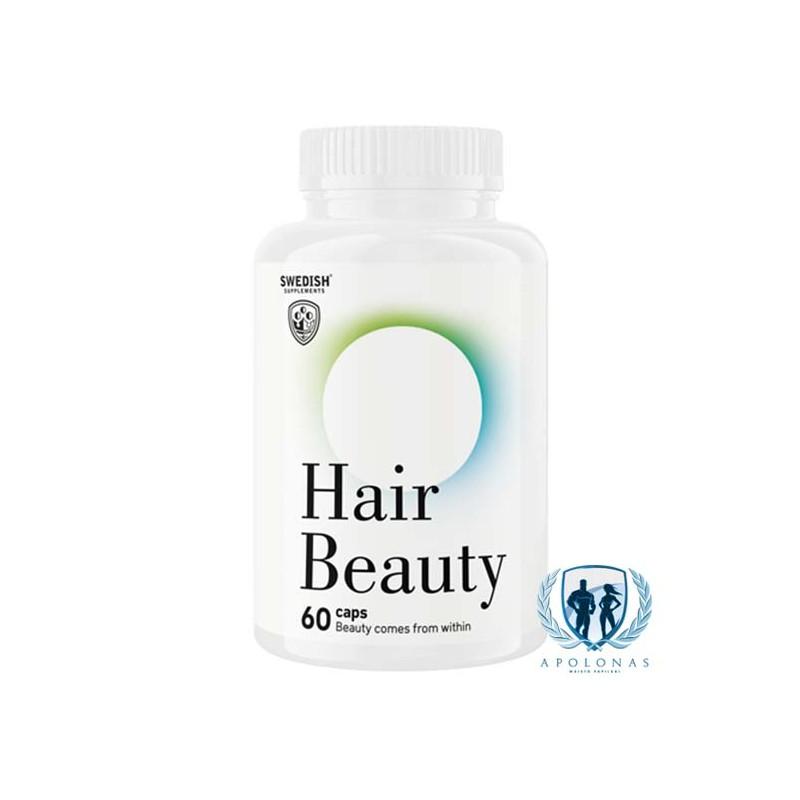Swedish Supplements Hair Beauty 60kaps