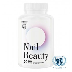 Swedish Supplements Nail Beauty 90kaps