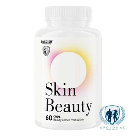 Swedish Supplements Skin Beauty 60kaps