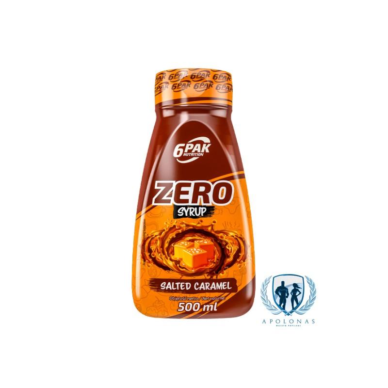 6PAK Nutrition Zero Syrup 500ml