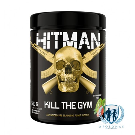 Swedish Supplements Hitman 500g