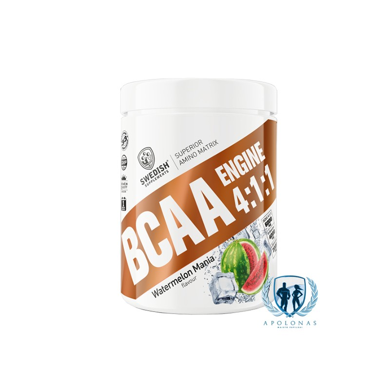 Swedish Supplements BCAA Engine 4:1:1 400g
