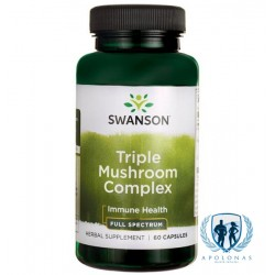 Swanson Triple Mushroom Complex 60 kaps