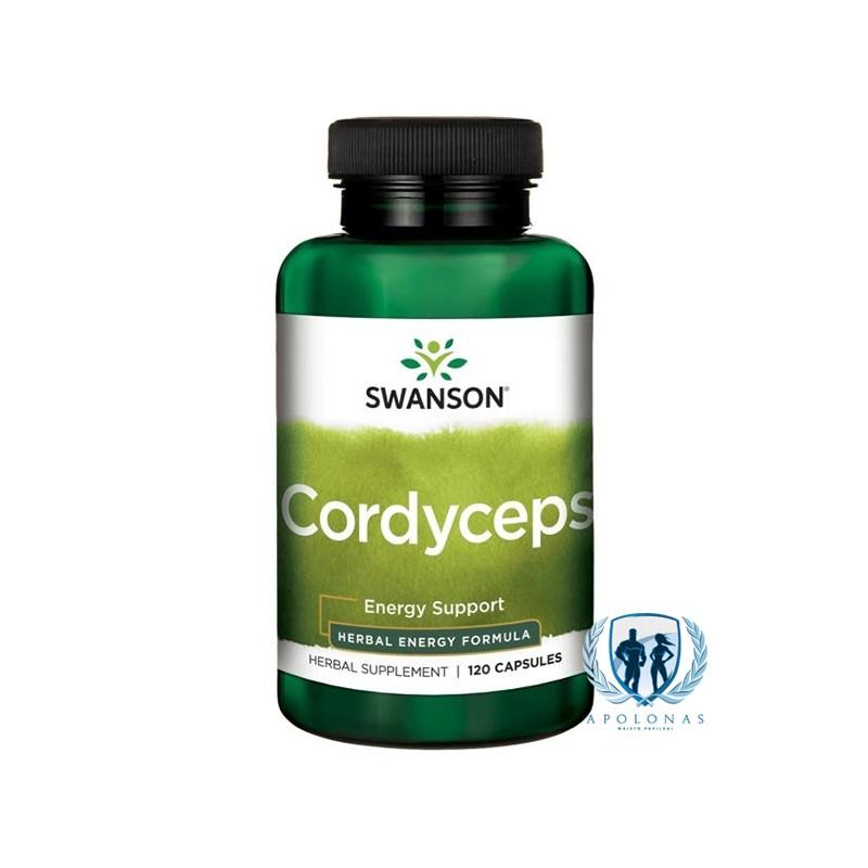 Swanson Cordyceps 120 kaps