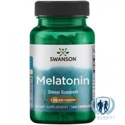 Swanson Melatonin 120 kaps