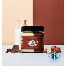 FoodSpring šokolado ir balto šokolado kremas 200g