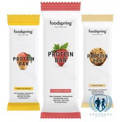 FoodSpring baltyminis batonėlis 60g