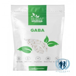 RAW POWDERS GABA 125g