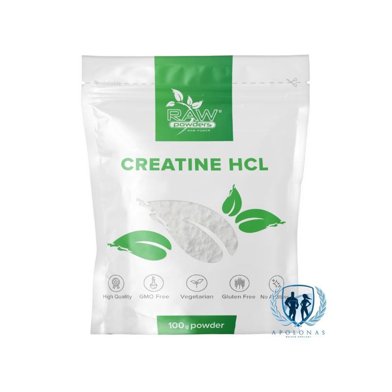 Raw Powders Creatine HCL 100g
