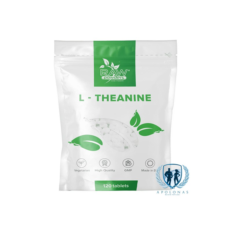 Raw Powders L-Theanine 120tab