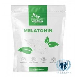 Raw Powders Melatonin 200 tab.