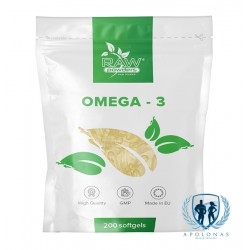 Raw Powders Omega-3 200kaps