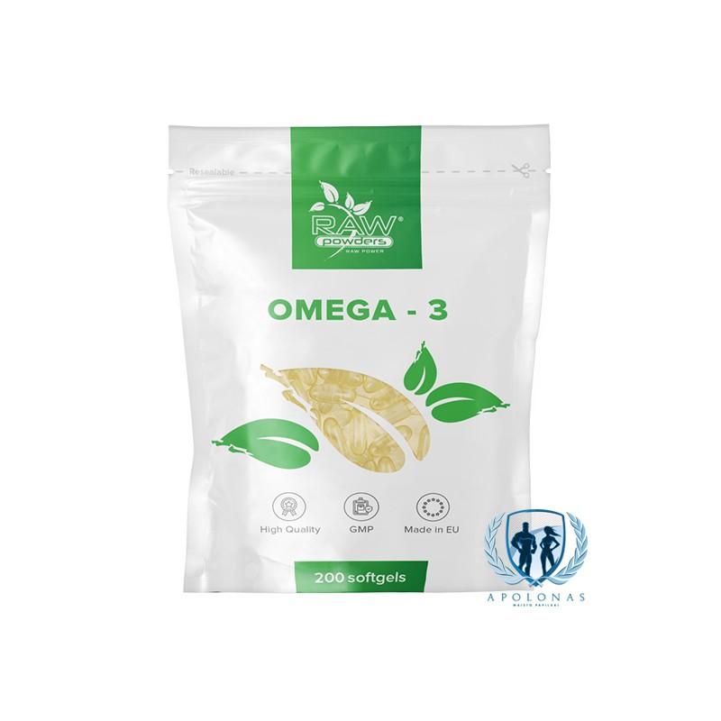 Raw Powders Omega-3 200kaps