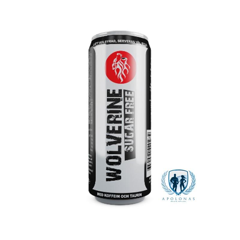 Wolverine Energetinis gėrimas be cukraus 250ml