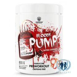 Swedish Supplements Bloody Pump 600g Sulipę milteliai
