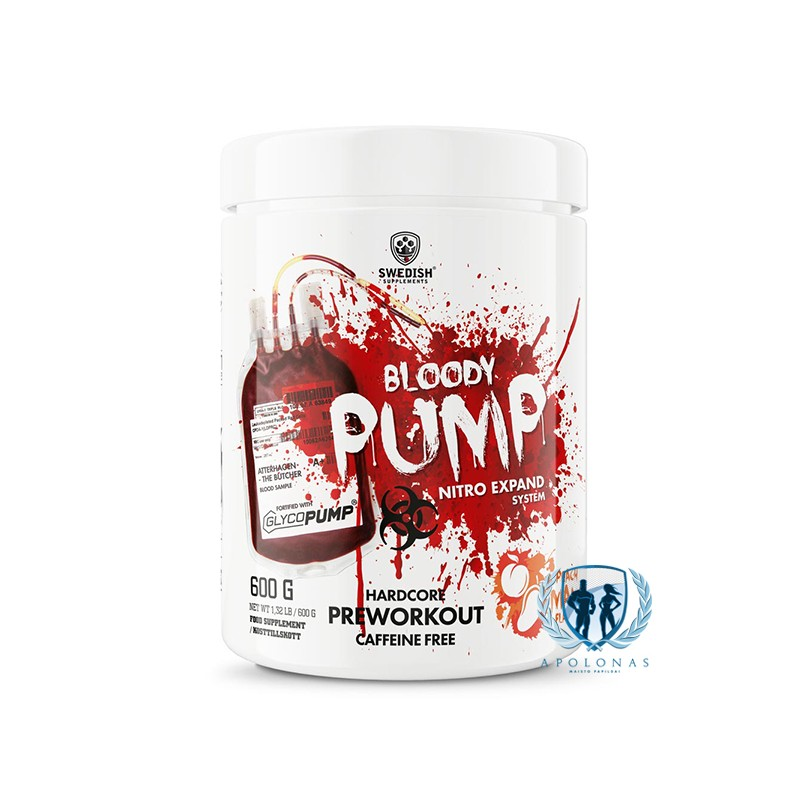 Swedish Supplements Bloody Pump 600g