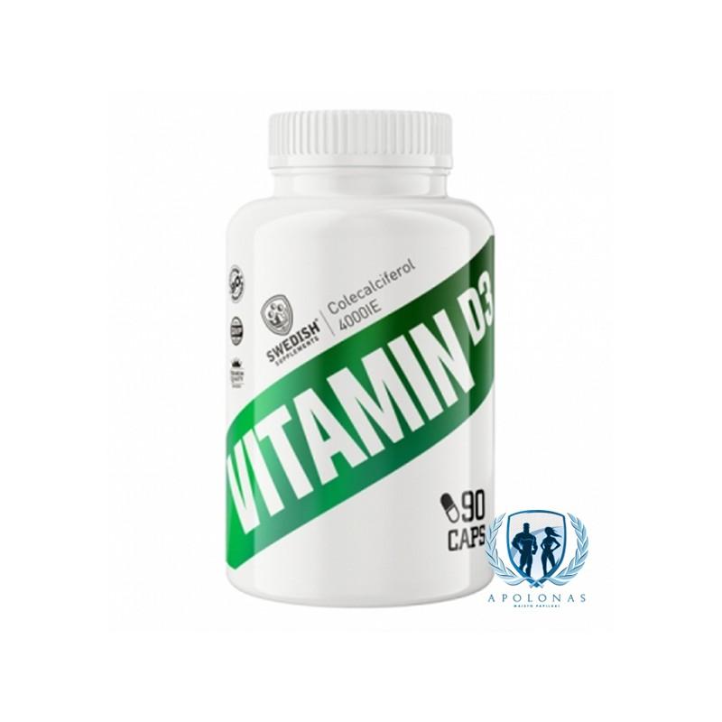 Swedish Supplements Vitamin D3 90 tab