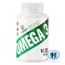 Swedish Supplements Omega 3 120kaps