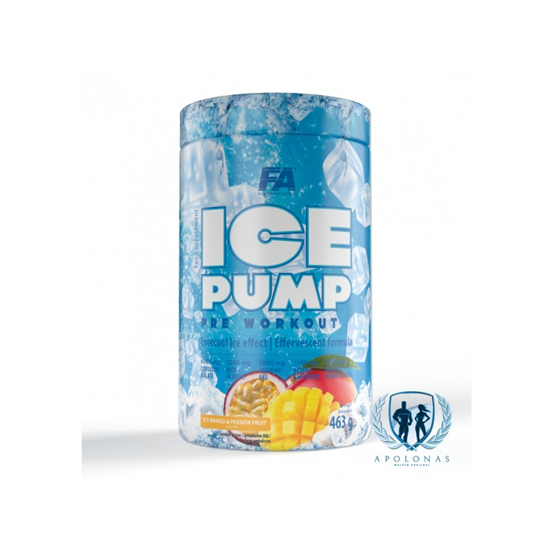 FA ICE Pump Pre workout 463g