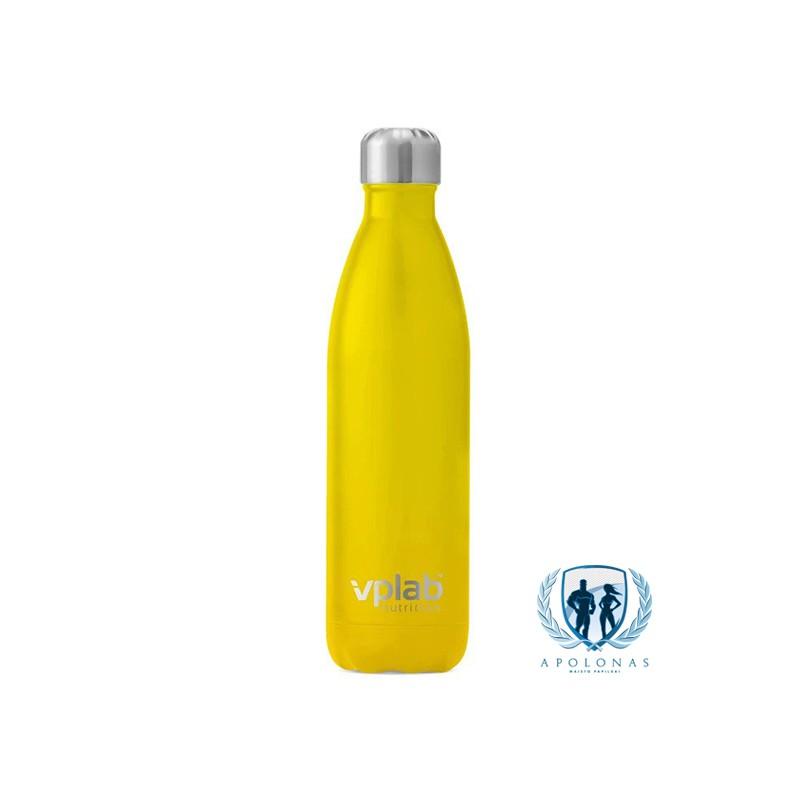 VpLab metalinė vandens gertuvė 500ml Yellow