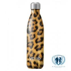 VpLab metalinė vandens gertuvė 500ml Leopard