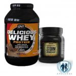 QNT DELICIOUS WHEY + Warrior Storm